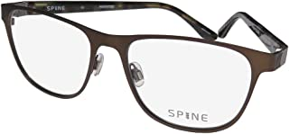 New Spine Rx Eyeglasses - SP2010 174 - Brown (55-17-140)
