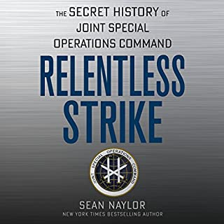 Relentless Strike audiobook cover art