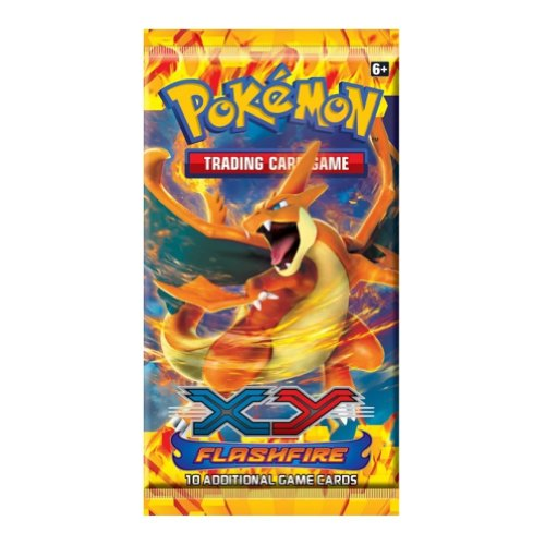 XY 2 Flashfire Booster Pack: Pokemon Card Game