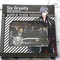 Six Gravity アクリルクロック
