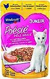 Vitakraft Poésie Deli Sauce Junior - Cibo Umido per Gattini, Confezione da 23 pacchettini (23 x 85 g)