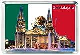 DreamGirl I245 Guadalajara Jumbo Imán para Nevera Mexico Travel Fridge Magnet