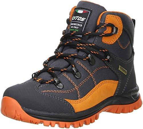 LYTOS Kinder Wanderschuhe Trekkingschuhe anthrazit/orange, Größe:33;Farbe:Anthrazit