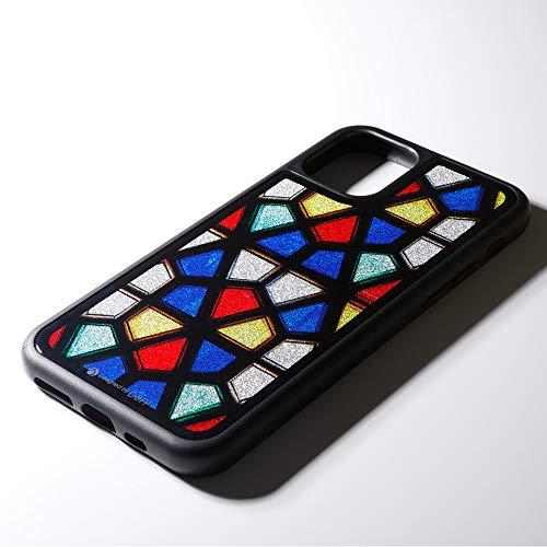 Deff(ディーフ)HybridCaseEtanze(エタンゼ)foriPhone11ProMaxハイブリッドケース(ステンドグラス1)