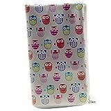 Softcase Tasche für General Mobile 4G 4,8-5,1 Zoll Hülle Etui