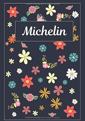 Michelin: Journal   Agenda   Carnet de Notes   120 pages   A4   Blanc   Idée Cadeau