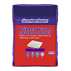 Choose Slumberdown winter warm blanket if you're looking for a nice simple heated underblanket for a lovely warm welcome on cold winter nights Measuring 142 x 150 cm (fits King Size bed); this blanket heats the areas of the bed that need it most It's...