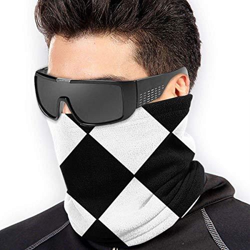 Gesichtsmaske Schal Harlekin Diamanten Hals Gamasche Rohr Kopfbedeckung Bandana Rave Staubmaske Frauen Männer Für Wind Sonnenschutz Cool Head Wrap