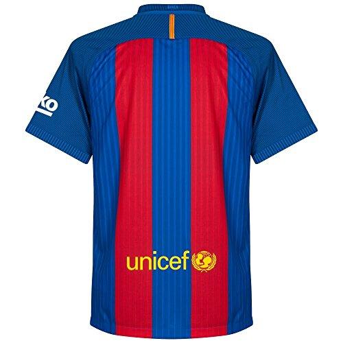 NIKE FC Barcelona M SS Hm Vapor Match JSY Camiseta de Manga...