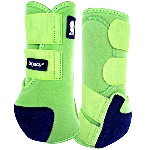 Classic Equine Legacy2 System Heckstiefel, lime, Large