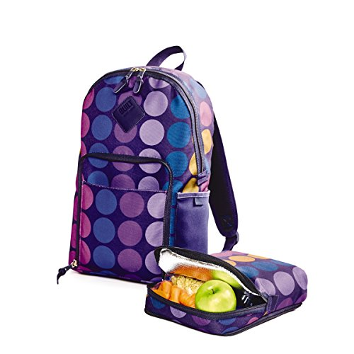 BUILT NY Lunchpack Collection Union Square Backpack with Removable...
