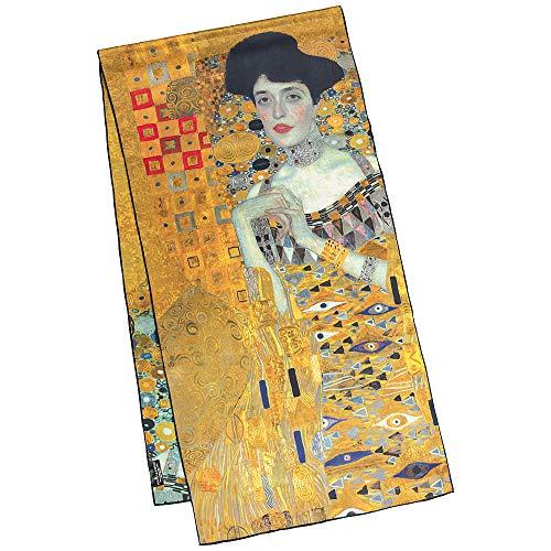 VON LILIENFELD Bufanda Seda Chal Chalina Motivo Arte Gustav Klimt: Adele