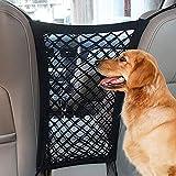 LIUZKH Copertura del sedile del cane di protezione dell'automobile rete di stoccaggio di sicurezza borsa Pet Mesh Viaggio Isolamento Sedile Posteriore Barriera di Sicurezza perro cucciolo accessori