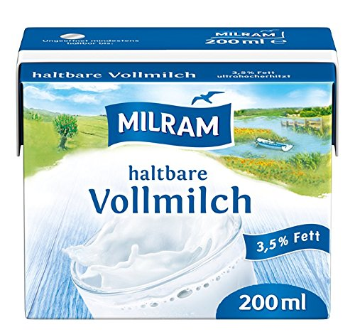 MILRAM H-Vollmilch-Drink, 20er Pack (20 x 200 ml)