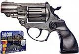 VILLA GIOCATTOLI 1455 - Pistola de Metal para halcón de policía Occidental, Multicolor, Talla única