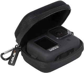 Tas voor GoPro Hero 9 JSVER Draagtas Beschermhoes voor Gopro 10/9/8/7/6/5/4/3 DJI Osmo Action, AKASO EK7000, Campark ACT7...