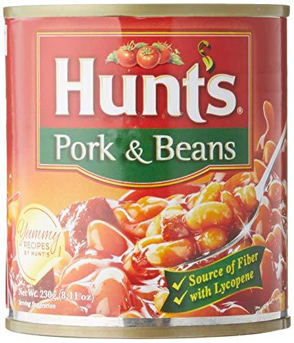 ポーク アンド・ビーンズ pork and beans 230g Hunts source of fiber