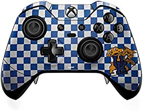 Skinit Decal Gaming Skin for Xbox One Elite Controller - Officially Licensed College UK Checkered Design