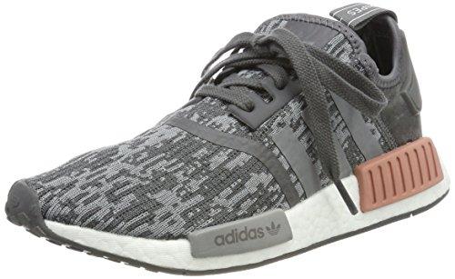 adidas Damen NMD_r1 W Sneakers, Grau (Grey Five F17), 36 EU