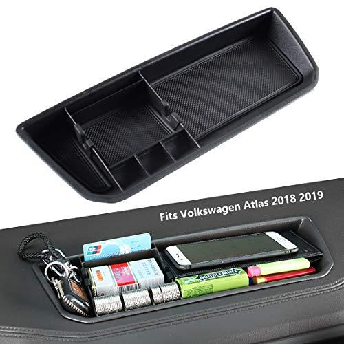 EDBETOS Interior Dashboard Storage Box Organizer Holder Tray Compatible with VW Volkswagen Atlas 2018 2019 2020 2021 Dash Mounted Holders Accessories