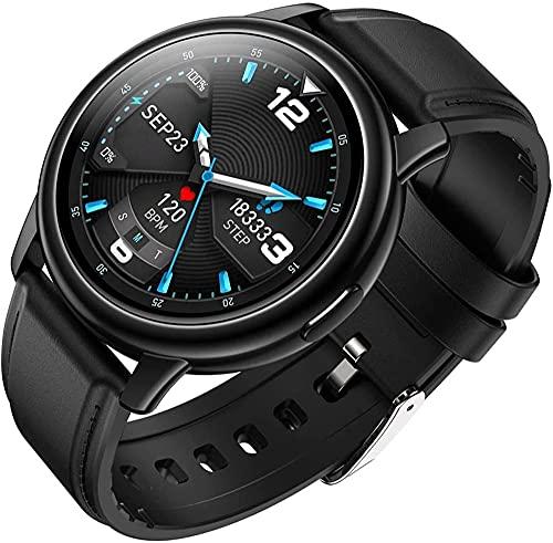 wyingj Reloj Inteligente Hombres IP68 Impermeable Podómetro Reloj Hombres Y Mujeres Deportes Watch-B