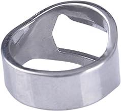 Flesopener Ring Bierflesopener Kurkentrekker Flesopener Draagbare Gereedschap Creatieve Geschenk Draaibare Ketting Titaniu...
