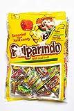 Caramelos Pulparindo - Dulces Mexicanos con relleno Chamoy, Mango y Tamarindo - Bolsa de 68 Piezas