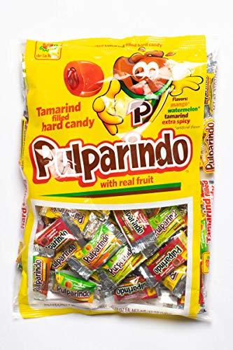 Pulparindo Bonbons mit Füllung Chamoy Mango Tamarindo Mexikanische Bonbons 68 Stuck