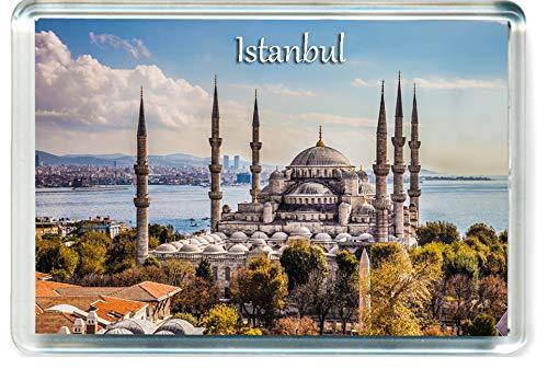 Dream I135 Istanbul Jumbo Kühlschrankmagnet Turkey Travel Fridge Magnet
