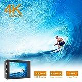 Zoom IMG-1 campark v20 fotocamera sportiva 4k