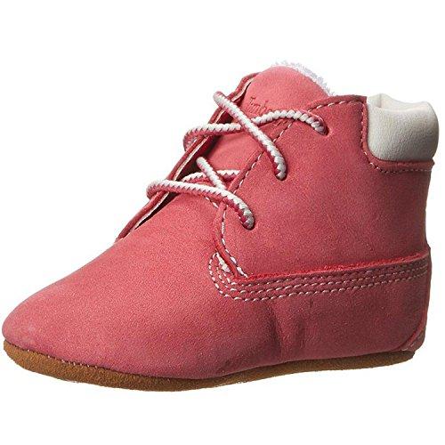 Timberland Unisex Baby Chukka Boots mit Hut , Pink (Medium Pink Nubuck), 18.5 EU