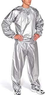 kelebin Heavy Duty Sauna Sweat Suit Exercise Gym Suit Fitness Weight Loss Anti-Rip