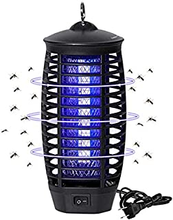 Wanqueen Electric Mosquito Trap, Bug Zapper, Light-Emitting Mosquito Killer with Hook, Flying Insect Trap for Indoor