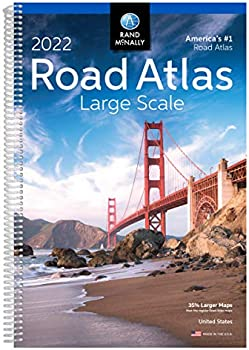 Rand McNally 2022 Large Scale Road Atlas Spiral Bound