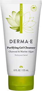 Sponsored Ad - DERMA E Purifying Gel Cleanser With Marine Algae and Activated Charcoal, 6 oz