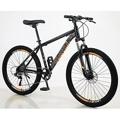 Bicicleta De Montaña, Freno De Disco Minusscat, Al Aire Libre, Club De Equitación-Naranja Negra_7 Velocidadactualizar Bici Electrica Urbana Ligera