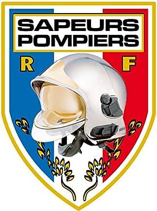 6be75893d0 Men Fire Autocollant Sapeurs Pompiers Pare Brise - Blason