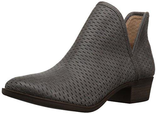 Lucky Brand Women's Baley Fashion Boot, Storm, 7.5 Medium US