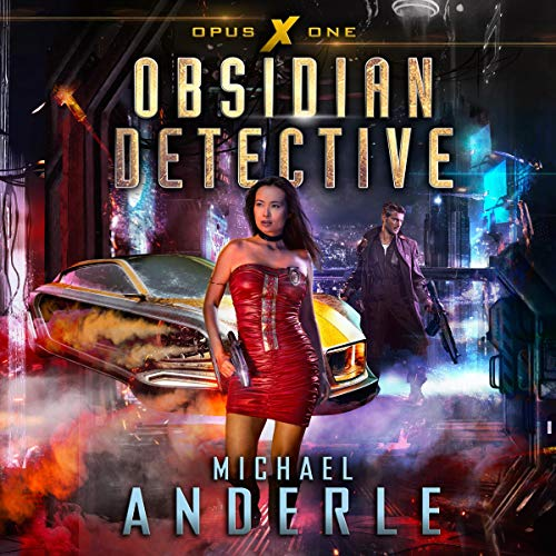 Obsidian Detective audiobook cover art