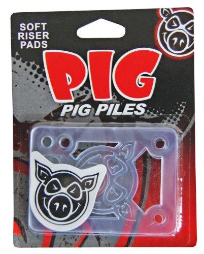 Pig Wheels Skateboard Zubehör Piles Soft Shockpads 1/8