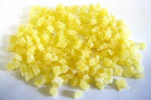 Ananas Stücke 1 kg für Müsli 5 mm ohne Schwefel Tee-Meyer