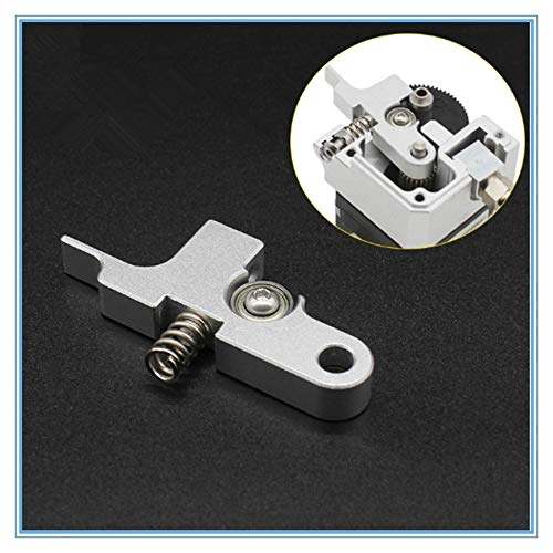 L-Yune,bolt 1pc Extruder Idler Arm Allmetall for Titan Aero Extruder 1.75mm Artillerie Sidewinder for Prusa I3 4max Pro 3D Printer Parts (Farbe : Silber-)