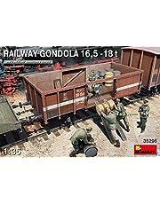 MiniArt 35296 - Maqueta de Railway Gondola (16,5-18 t)