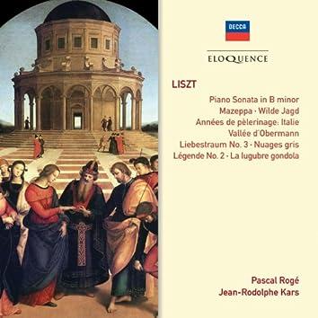 Liszt: Sonata ∙ Années de pèlerinage ∙ Études ∙ Légende No. 2
