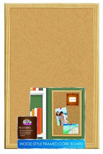 "The Board Dudes: Cork Board - Wood Frame (11"" x 17"")"