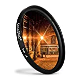 CELLONIC® Filtro Stella per Ø 62mm (4 Point) Croce Filtro, Star Filter, Cross Filter