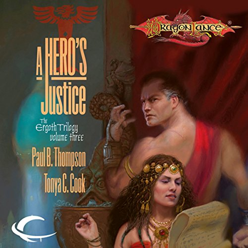 A Hero's Justice audiobook cover art