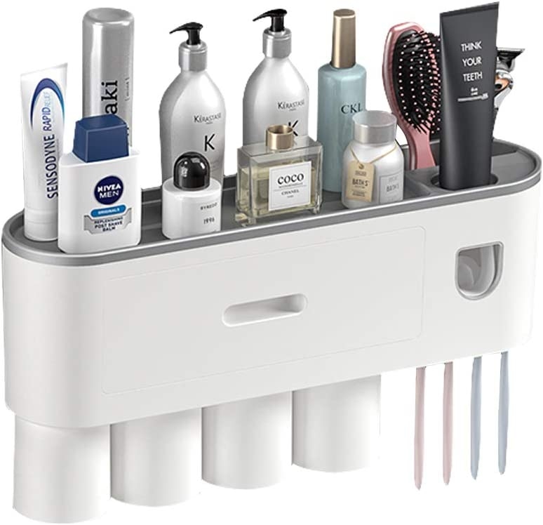 Multifunctional Toothbrush Holder online shop with Automatic gift Cups Toothpa 4