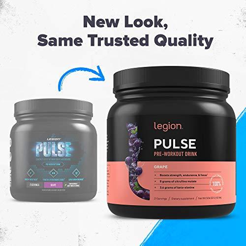 Legion Pulse Pre Workout Energy Powder