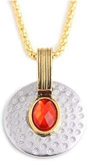 Scarlet Witch Necklace Captain America Pendant Cosplay Costume Prop
